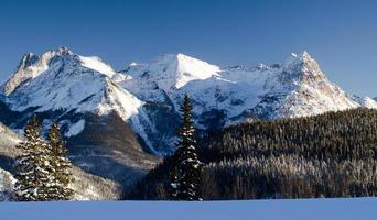 Snow Mountain Sunset Range, Colorado