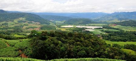 lac angostura dans la vallée photo