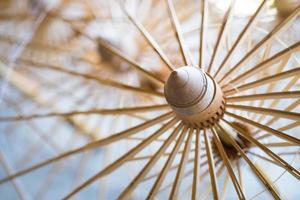 nervure de parapluie en bambou, cadre de parapluie