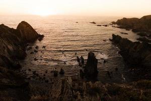 vue sur la côte portugal photo