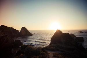 vue sur la côte portugal 3 photo