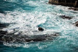 Falaises de la côte de Kalbarri Batavia sur l'océan