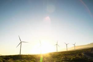énergie renouvelable des centrales électriques photo