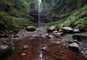 henrhyd falls sgwd henrhyd au sud du Pays de Galles photo