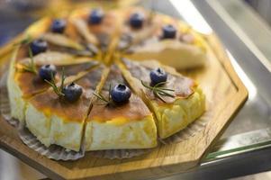 produits de boulangerie aux myrtilles