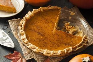 tarte à la citrouille maison pour Thanksgiving