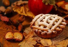 tarte aux pommes photo