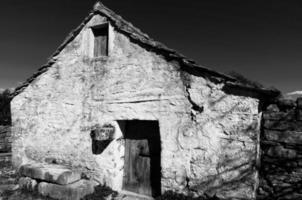 vieille maison en pierre photo