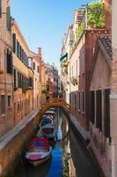 Maison traditionnelle de Venise, Italie photo