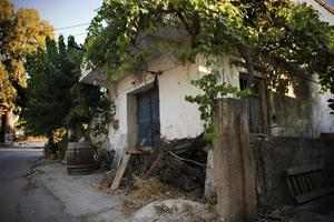 vieille maison crète photo