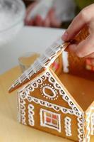 fabrication de maison en pain d'épice