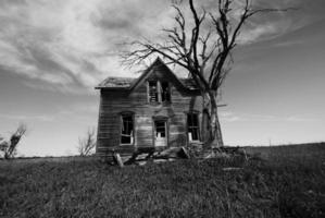 maison de ferme vide