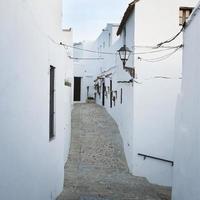 Cadix, Espagne, maison blanche photo