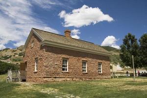 école de brique pionnière photo