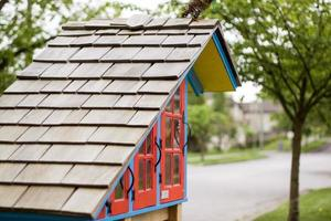 petite maison au coin photo