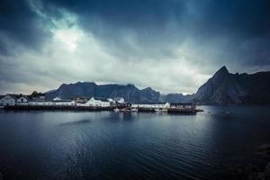 lofoten norvège maisons sur pilotis 6