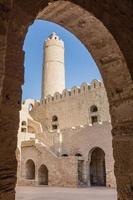 Maisons anciennes dans la médina de sousse, tunisie