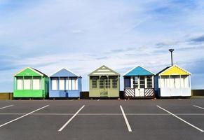 stations de vacances colorées