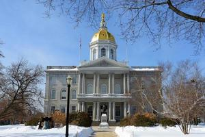 New Hampshire State House, Concord, NH, USA photo