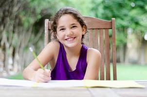 heureux de faire ses devoirs
