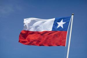 drapeau du chili photo