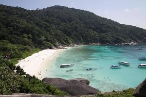 île de similan, Thaïlande photo