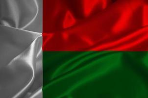 drapeau madagascar photo