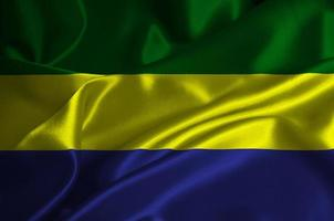 drapeau gabon photo