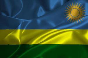 drapeau rwanda photo