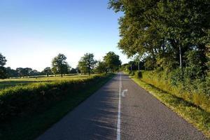 route vide dans le pays