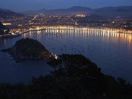 Saint-Sébastien - Donostia la nuit photo