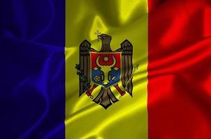 drapeau de la Moldavie photo