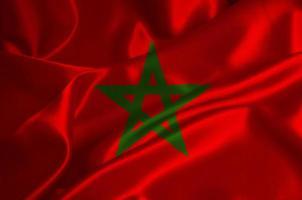 drapeau maroc photo