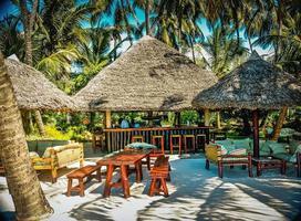 bar de plage photo