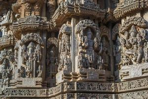 Temple de Chennakeshava, Somanathapura, Karnataka, Inde photo