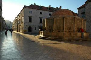 vieille ville, dubrovnik, croatie. photo