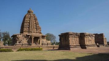Temple de Galaganatha, Pattadakal, Karnataka, Inde photo