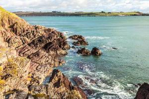 paysage irlandais. Côte atlantique du comté de Cork, Irlande photo