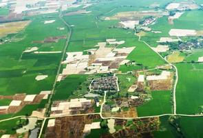 vue aérienne de l'est en chine photo