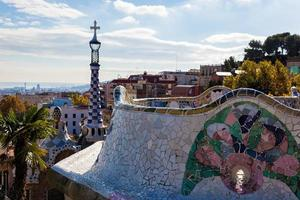 park guell barcelone photo