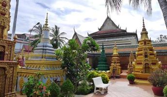 wat preah prom rath pagode photo