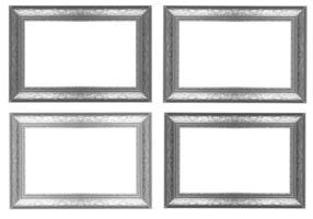 cadre photo argenté