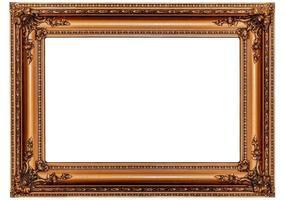 cadre photo en or antique massif
