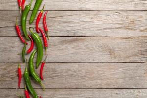 piments colorés photo