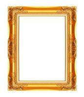 cadre photo isolé sur fond blanc