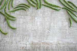 haricots frais
