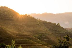 rizières en terrasses de Longji photo
