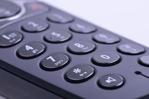 clavier du téléphone