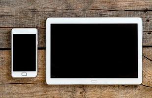 téléphone portable et tablette pc photo