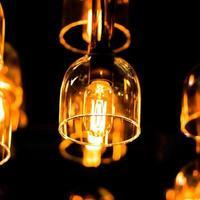 éclairage décoratif. photo